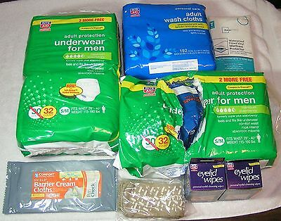 Underwear For Men S/M Maximum Protection Adult Wash Cloths Eyelid Wipes Rite Aid