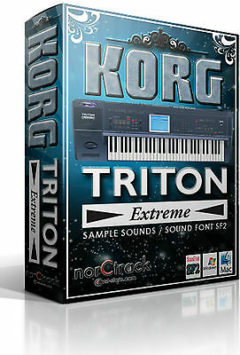 KORG TRITON EXTREME Samples Sounds SoundFont SF2 vst-store norCtrack tritone