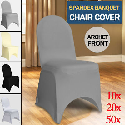 Chair Cover Covers Spandex Lycra Stretch Banquet Wedding Party FOUR COLOUR