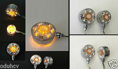 2 pz LED 24V Indicatore Laterale Cromo Luci per camion Scania Iveco DAF MAN