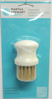 Martha Stewart Crafts Stippling Brush Natural bristles 32231