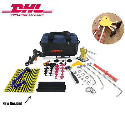 Dent Lifter PDR Rods Kit Puller Hail Removal Tools Paintless Ding Dent Repair