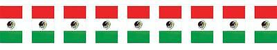 Beistle Company OUTDOOR MEXICAN FLAG BANNER