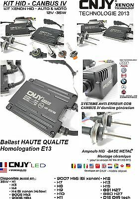 Kit Conversion Hid Xenon Feux De Croisement Phare Saab 9-3 Combi 1.8 2.0 2.8