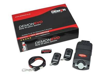 Demon Evo Self Fit Alarm System With Motion Sensor Motorcycle Motorbike Scooter