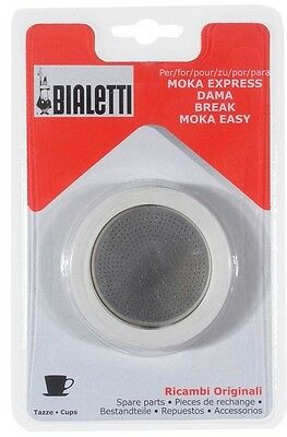 Joint + Filtre Pour Cafetiere Italienne Moka 12 Tasses Bialetti