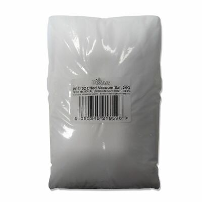 Pisces Pond Salt 2Kg Pure Dried Vacuum Food Grade Water Treatment For Koi Fish