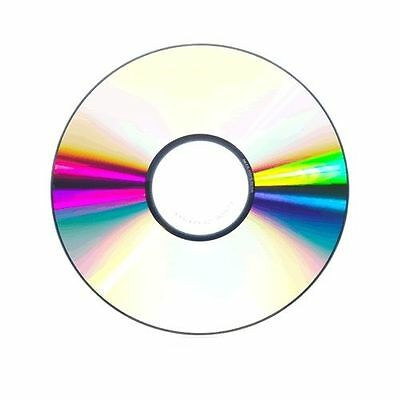 100 PACK A-GRADE BLANK CD-R80 DISC 52X 700MB 80MIN Silver Unbranded