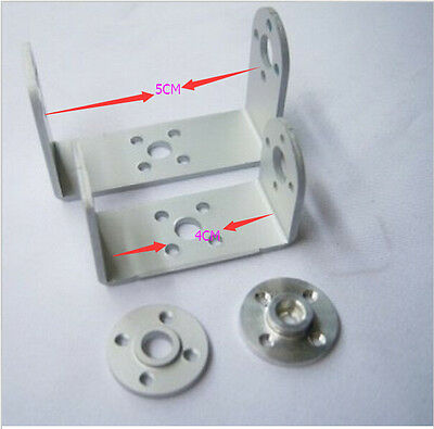 F03711 Metal U holder + round servo mount Bracket Robot servo spare parts