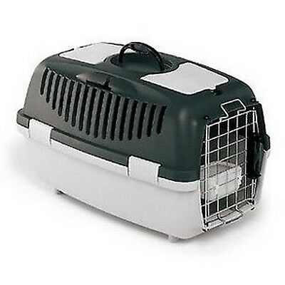 PANIER CAGE TRANSPORT CHIEN CHAT GULLIVER 4 IATA HOMOLOGUE AVION 71x51x50 CM