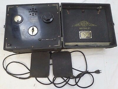 Home Diathermy Co. Shortwave Vintage Electric Medical Machine Device, New York