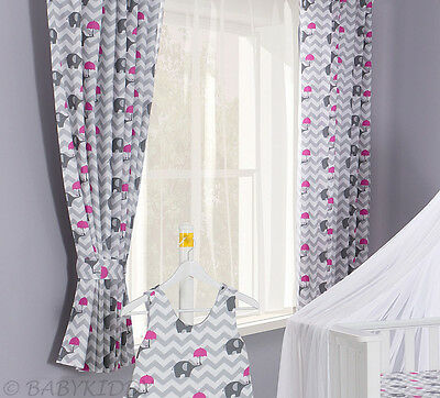 LUXURY BABY ROOM WINDOWS CURTAINS SET/ Matching Pattern for Bedding-155X155cm