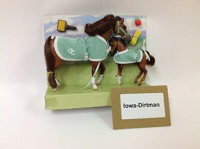 Grand Champions Magic Mare & Foal 26091 Horse Play Set Production Sample Used