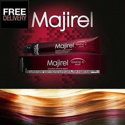L'Oreal Professional Majirel, Majiblond & MajiRouge Hair Colour Loreal 50ml