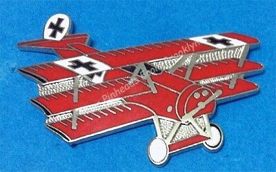 "Fokker ""red Baron"" Collector Airplane Pin"