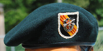Wartime 5th Special Forces Group (ABN) Beret, SF Headgear