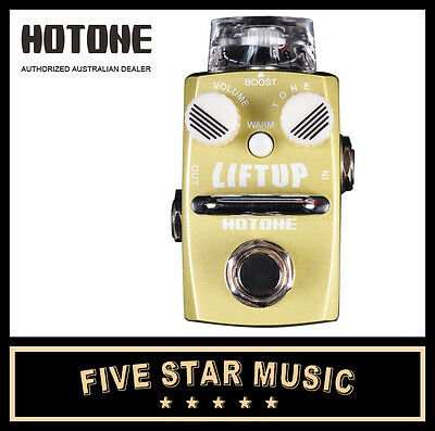 Hotone Liftup Clean Boost Guitar Effects Pedal Ho-Liftup Booster - New In Box