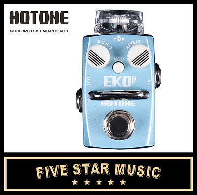 Hotone Eko Digital Delay Guitar Effects Pedal Ho-Eko - New In Box