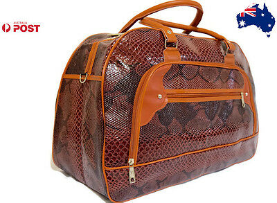 Carry On luggage Travel Bag Large Holdall Messenger Bag Shoppers Tote HQ Purse