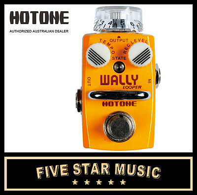 Hotone Wally Looper Guitar Effects Pedal Ho-Wally Loop Station - New In Box