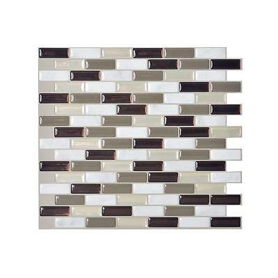 Smart Tiles SM1054-1 SELF-ADHESIVE WALL TILES 1/SHEET MURANO STONE 0.64 sq/ft