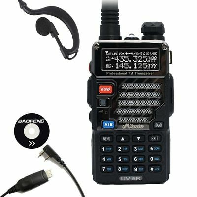 Baofeng x Misuta UV-5R 2-Way Talkie Radio FM 136-174/400-520MHz + USB Cable UK