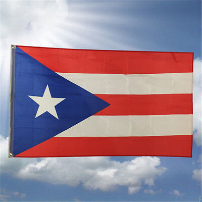 New Design 3'x5' Ft Puerto Rico Rican State Flag Polyester Brass Grommets