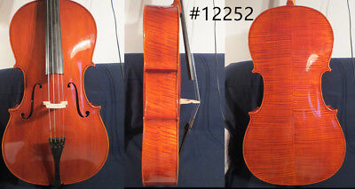 Strad style SONG Brand Solid wood 3/4 cello,huge and resonant sound