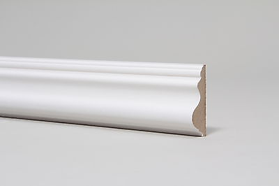 Pre Primed MDF Dado Rail - 58x18x2700mm , Free Delivery
