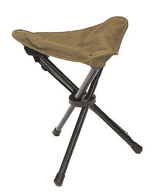 DREIBEIN KLAPPHOCKER coyote Faltsitz Campinghocker Angelstuhl Outdoor Military