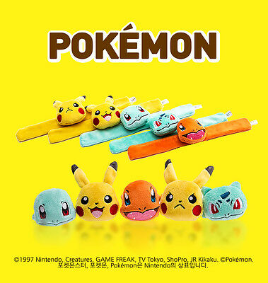 Lovelycocohouse :: Pokemon Pocket Monster Soft Wristband 5Types :: Made in Korea