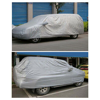 Full Car Cover Auto Universal Full Car Cover Anti UV Dust Protection For SUV