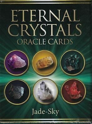 Eternal Crystals Oracle Cards by Jade-Sky (NEW & Sealed)
