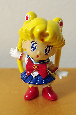 "SAILOR MOON- Vintage PVC Figure 2""- Stand Alone- Very Cute!"