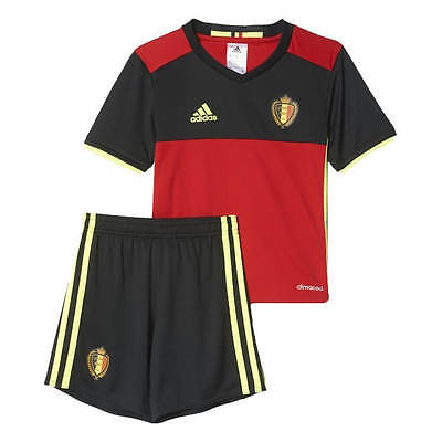 Belgium Kids Euro Home Kit 2016/17