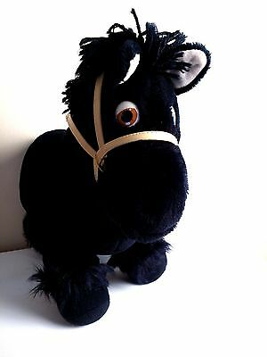 CABBAGE PATCH CPK SHOW PONY- Black Horse with Reins!
