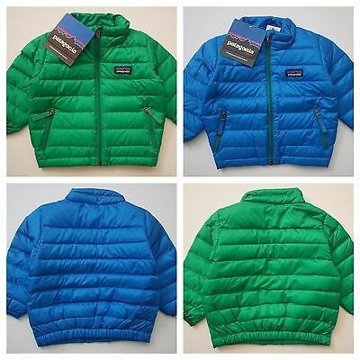 $99 Patagonia Baby Down Sweater Infant Toddler Boy's