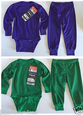 NWT $50 Patagonia Baby Capilene 3 Midweight Set  Infant/Toddlers Boys' & Girls'