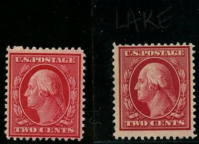 #332b VF OG NH (LAKE SHADE) WITH NORMAL STAMP CV $4,250 WLM1496