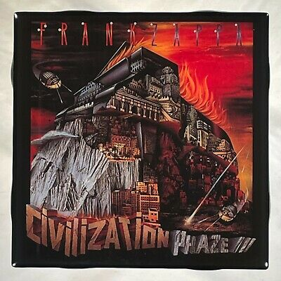 FRANK ZAPPA Civilization Phaze III Record Cover Art Ceramic Tile Coaster