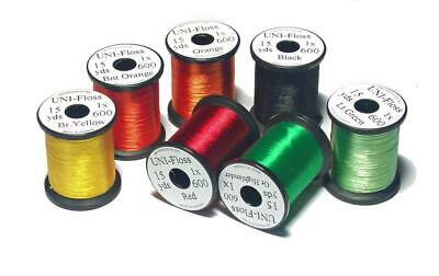 Uni-Floss | Single Strand Floss | Choice of Colours | Fly Tying Materials
