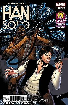 Star Wars Han Solo #1 (Of 5) (2016) Marvel Scarce Sdcc Lupacchino Variant Cover