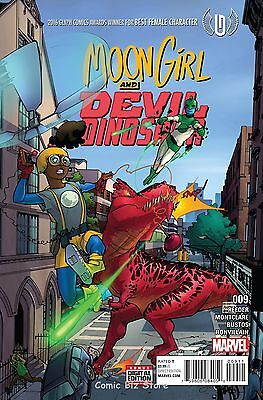 Moon Girl And Devil Dinosaur #9 (2016) 1St Printing Bagged & Boarded