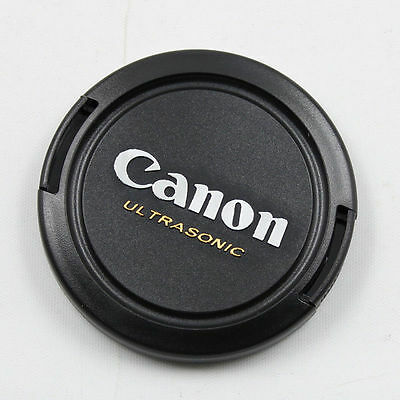 New 77mm Version I Snap On Front Lens Cap Cover Canon EOS Ultrasonic QTY = 2