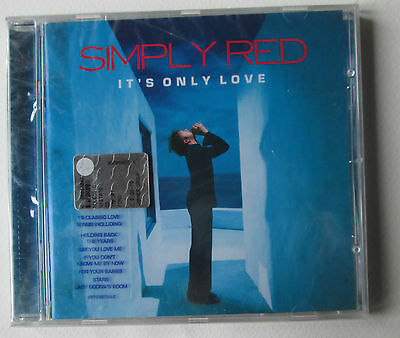 #  Simply Red - It's Only Love  -   Cd  Nuovo Sigillato
