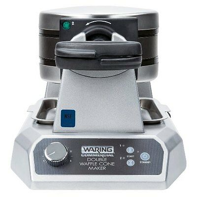 Commercial Double Waffle Cone Maker Concession Restaurant Ice Cream Snack Shop