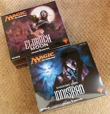 Magic The Gathering Shadows Over Innistrad & Eldritch Moon Fat Pack Lot