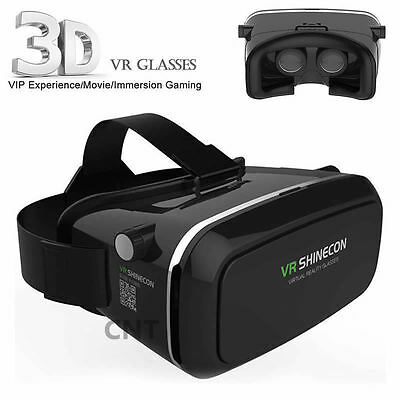 3D VR Glasses Virtual Reality Box with Adjustable Lens for 3.5-6 inch Smartphone