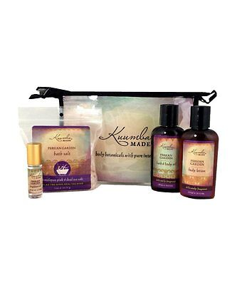 Kuumba Made 4 Treasures Gift Set -  Bath Salt, Lotion, Body Oil & Fragrance Oil