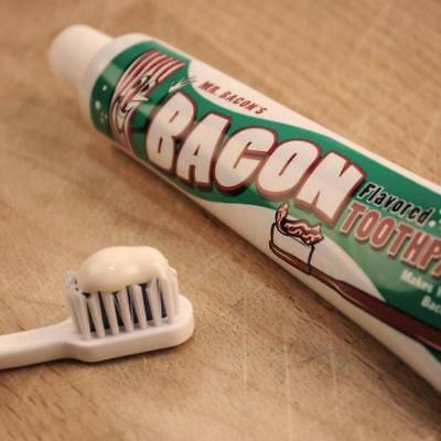 Bacon Flavoured Toothpaste 70g By Accountrements Funny Gag Gift